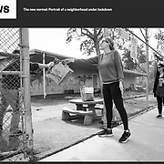 """""""Portrait Of A Neighborhood Under Lockdown,"""" a personal photo project on the Coronavirus, published by NBC News."""