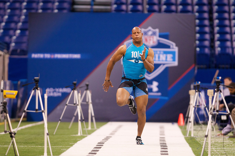 NFL Scouting Combine on Monday, Feb. 27, 2012 in Indianapolis, IN.