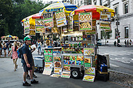 Hotdogs carts on Fifth Avenue and 60th Street