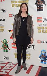 Amanda Lamb attends the Lego Ninjago:  Masters Of Spinjitzu UK TV premiere at The Empire Cinema, Leicester Square, on Saturday 7 February 2015