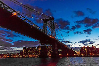 Williamsburg Bridge, New York, New York USA.
