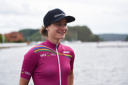 Marianne Vos (NED) is the new UCI Women's WorldTour leader at Ladies Tour of Norway 2018 Stage 3. A 154 km road race from Svinesund to Halden, Norway on August 19, 2018. Photo by Sean Robinson/velofocus.com