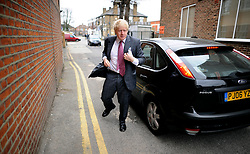 London Mayor Boris Johnson  campaigning in Southall, West London, for his Mayoral Campaign, Saturday March 31, 2012. Photo By Andrew Parsons/I-images