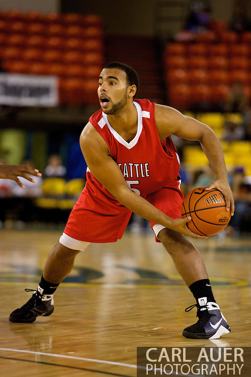 November 27, 2008: Seattle University guard Shaun Burl (5) in the opening round of the 2008 Great Alaska Shootout at the Sullivan Arena