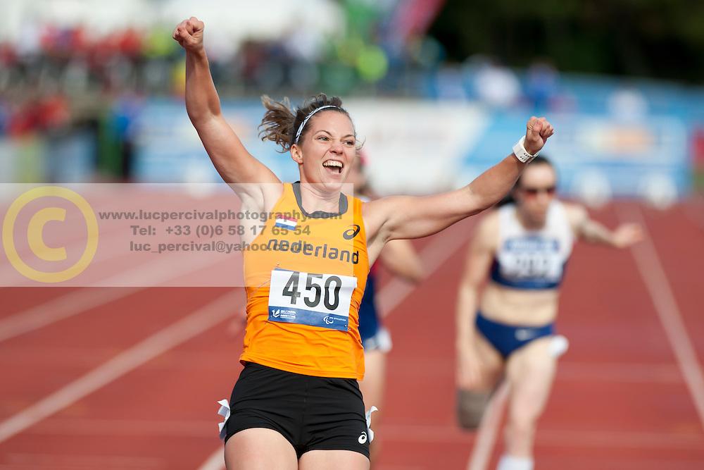 van RHIJN Marlou, 2014 IPC European Athletics Championships, Swansea, Wales, United Kingdom