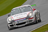 2009 Porsche Carrera Cup Great Britain.  Donington Park, Derby, United Kingdom. 16th-17th May 2009.  (8) - Glynn Geddie - Team Parker Racing.  World Copyright: Peter Taylor/PSP