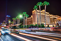 Las Vegas Boulevard featuring the Cosmopolitan, Bellagio & Caesar's Palace Hotels