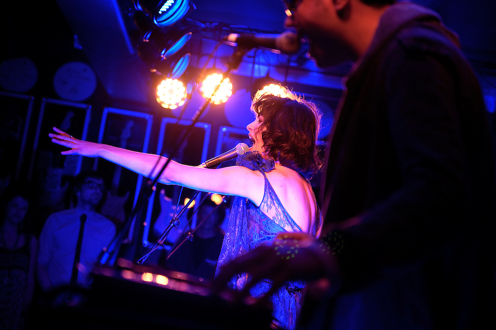 Kimbra performs at NZ On Air Showcase. Backbeat Bar, Auckland. 10 November 2010