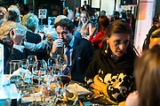 THOMAS PUTTER; PETER DAVIES; MARIA CASTINA, Action Against Cancer 'A Voyage of Discovery' fundraising dinner at the Science Museum on Wednesday 14 October 2015.
