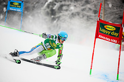 Borut Bozic of Slovenia competes during 1st run of Men's GiantSlalom race of FIS Alpine Ski World Cup 57th Vitranc Cup 2018, on March 3, 2018 in Kranjska Gora, Slovenia. Photo by Ziga Zupan / Sportida