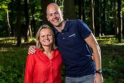 04-09-2017 NED: BvdGF team, Zeist<br /> Photoshoot met het team van de BvdGF 2017 / Petra en Jeroen