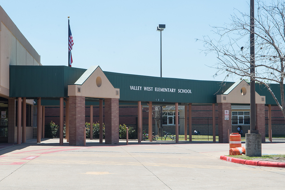 Valley West Elementary School photographed April 5, 2013. The school was a recipient of funds from the 2007 Bond.