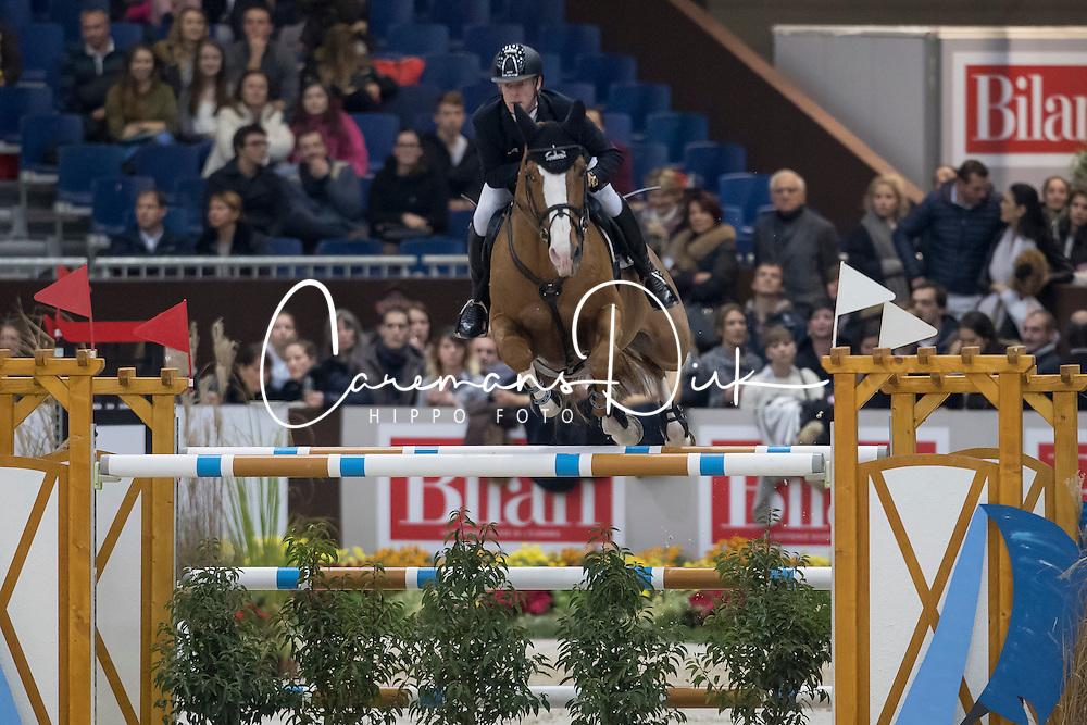 Ehning Marcus, (GER), Funky Fred<br /> Credit Suisse Grand Prix<br /> CHI de Genève 2016<br /> © Hippo Foto - Dirk Caremans<br /> 08/12/2016