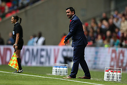 Pedro Martinez Losa manager of Arsenal Ladies FC - Mandatory byline: Jason Brown/JMP - 14/05/2016 - FOOTBALL - Wembley Stadium - London, England - Arsenal Ladies v Chelsea Ladies - SSE Women's FA Cup