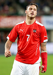 18.11.2014, Ernst Happel Stadion, Wien, AUT, Freundschaftsspiel, Oesterreich vs Brasilien, im Bild Marko Arnautovic (AUT) // during the friendly match between Austria and Brasil at the Ernst Happel Stadion, Vienna, Austria on 2014/11/18. EXPA Pictures © 2014, PhotoCredit: EXPA/ Alexander Forst