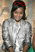 Teyana Taylor at Solange Knowles NYC Album release party held at Butter in New York City on September 5, 2008