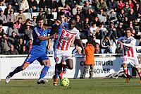 Dennis Oliech (Ajaccio) vs Dejan Lovren (Lyon)