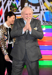 James Cosmo enters the Celebrity Big Brother house at Elstree Studios in Borehamwood, Herfordshire, during the latest series of the Channel 5 reality TV programme.