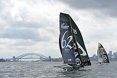 2015 - 18 FOOT SKIFF NSW CHAMPIONSHIP - HEAT 5 - SYDNEY - AUSTRALIA