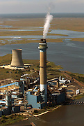 The Beesley's Point Generating Station, also called the B.L. England Generating Station, is a power plant in Upper Township, Cape May County, New Jersey, United States, on the Great Egg Harbor River
