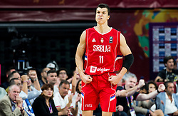 Vladimir Lucic of Serbia during basketball match between National Teams of Russia and Serbia at Day 16 in Semifinal of the FIBA EuroBasket 2017 at Sinan Erdem Dome in Istanbul, Turkey on September 15, 2017. Photo by Vid Ponikvar / Sportida