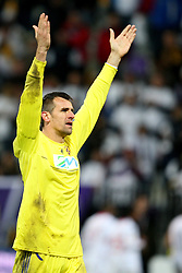 Jasmin Handanovic of NK Maribor at 3th round of European Leauge football match between Nk Maribor and Nk Braga, November 20, 2011, in Maribor, Slovenia (Photo by Urban Urbanc / Sportida ) .