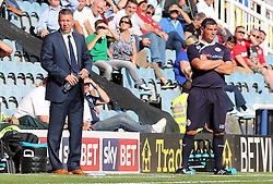 Peterborough United's manager Darren Ferguson and Crawley Town's manager Richie Barker  - Photo mandatory by-line: Joe Dent/JMP - Tel: Mobile: 07966 386802 31/08/2013 - SPORT - FOOTBALL -  London Road Stadium - Peterborough - Peterborough United V Crawley Town - Sky Bet League One