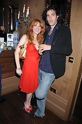 CHARLOTTE TILBURY and      at a party hosted by the Supper Club in honour of Mary Greenwell held at Beach Blanket Babylon, Ledbury Road, London on 25th June 2008.<br />