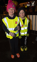 Aoife and Naoise Flatley, Kinvara at the  Darkness into Light walk in Kinvara in aid of Pieta House  :<br />  Photo:Andrew Downes, XPOSURE