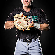 UVU Baseball team members pose for portraits and shots for this years promo on the campus of Utah Valley University in Orem , Utah, Friday, Feb. 5, 2016. (August Miller, UVU Marketing)