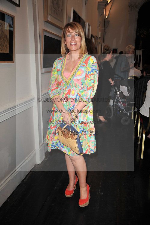 Actress FAY RIPLEY at The Special Yoga Centre's annual art auction held at the 20th Century Theatre, 291 Westbourne Grove, London W11 on 16th May 2011.