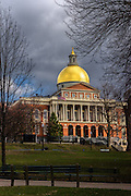 Massachusetts State House the mainbuilding designed by Charles Bulfinch