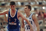Europei Roma 1991<br /> Finale Italia vs Jugoslavia<br /> Stefano Rusconi<br /> Foto: Fabio Ramani