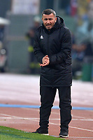 Gurban Gurbanov, Qarabag coach.<br /> Roma 05-12-2017 Stadio Olimpico Uefa Champions League A 2017/2018 Group C AS Roma - Qarabag Foto Antonietta Baldassarre / Insidefoto