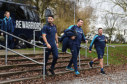 Worcester Warriors arrive at Allianz Park - Mandatory byline: Patrick Khachfe/JMP - 07966 386802 - 29/12/2018 - RUGBY UNION - Allianz Park - London, England - Saracens v Worcester Warriors - Gallagher Premiership Rugby