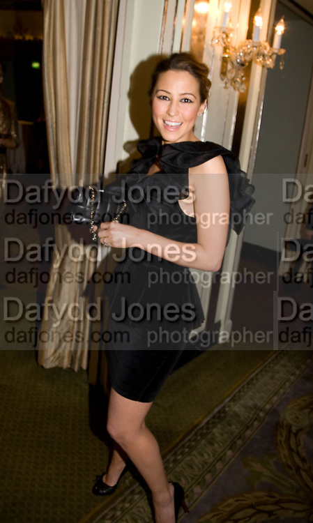 RACHEL STEVENS, South Bank Show Awards, Dorchester Hotel, Park Lane. London. 20 January 2009 *** Local Caption *** -DO NOT ARCHIVE-© Copyright Photograph by Dafydd Jones. 248 Clapham Rd. London SW9 0PZ. Tel 0207 820 0771. www.dafjones.com.<br /> RACHEL STEVENS, South Bank Show Awards, Dorchester Hotel, Park Lane. London. 20 January 2009