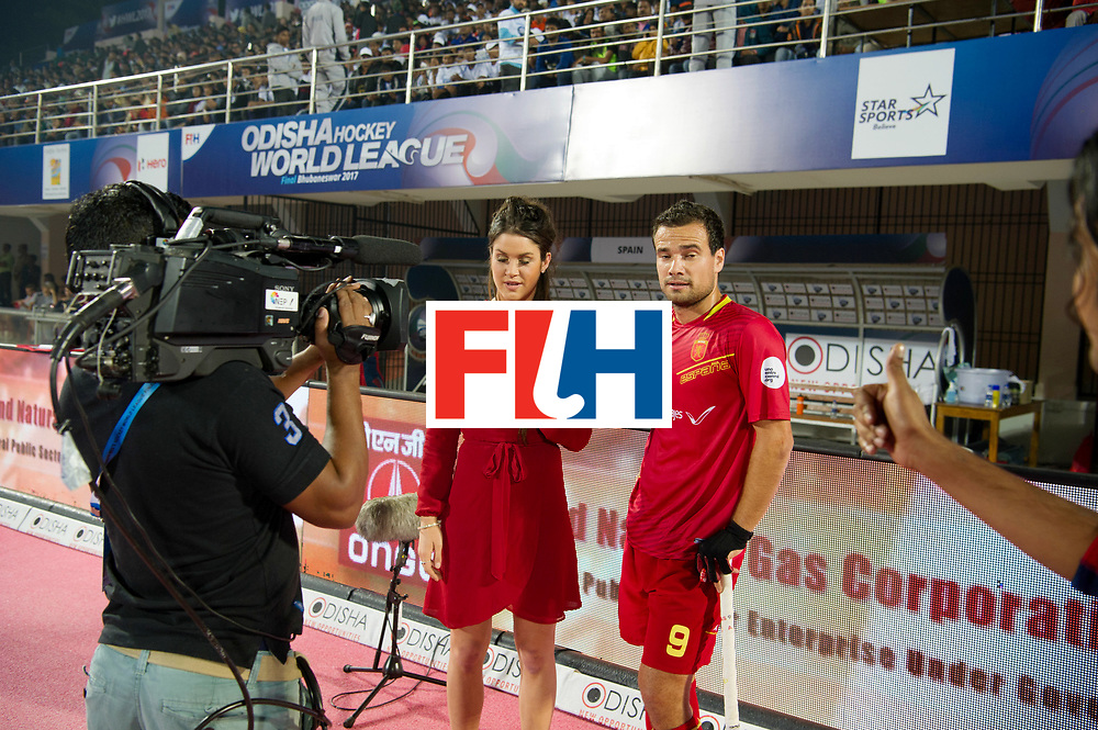 Odisha Men's Hockey World League Final Bhubaneswar 2017<br /> Match id:11<br /> Argentina v Spain<br /> Foto: Anna Flanagan and /v9<br /> COPYRIGHT WORLDSPORTPICS FRANK UIJLENBROEK