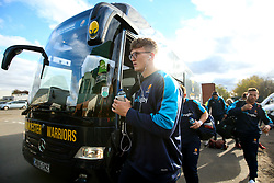 Ted Hill of Worcester Warriors arrives at Welford Road - Mandatory by-line: Robbie Stephenson/JMP - 03/11/2018 - RUGBY - Welford Road Stadium - Leicester, England - Leicester Tigers v Worcester Warriors - Gallagher Premiership Rugby