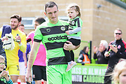 Forest Green Rovers Lee Collins(5) during the EFL Sky Bet League 2 match between Forest Green Rovers and Exeter City at the New Lawn, Forest Green, United Kingdom on 4 May 2019.