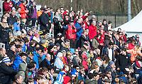 BLOEMENDAAL -  Publiek KHC Dragons (Belgie)- Harvestehuder THC (Duitsland) tijdens EHL. COPYRIGHT KOEN SUYK