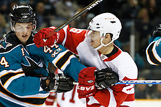 20101130 - Detroit Red Wings at San Jose Sharks (NHL Hockey)