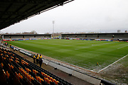 General view of the Pirelli Stadium during the EFL Sky Bet Championship match between Burton Albion and Brentford at the Pirelli Stadium, Burton upon Trent, England on 18 March 2017. Photo by Richard Holmes.