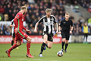 Notts County forward Jonathan Stead (30) during the The FA Cup 4th round match between Notts County and Swansea City at Meadow Lane, Nottingham, England on 27 January 2018. Photo by Jon Hobley.