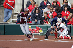 22 April 2017:  Taylor Vanderpool during a Missouri Valley Conference (MVC) women's softball game between the Missouri State Bears and the Illinois State Redbirds on Marian Kneer Field in Normal IL