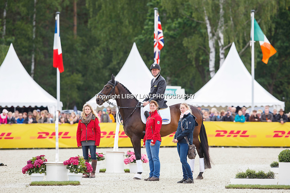 RETIREMENT OF A SUPERSTAR: GER-Andreas Dibowski (FRH BUTTS LEON): 2015 GER-DHL Luhmühlen CCI4* (Saturday 20 June) CREDIT: Libby Law COPYRIGHT: LIBBY LAW PHOTOGRAPHY