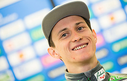 Peter Prevc during press conference of Slovenian Ski Jumping team, on January 23, 2017 in Telemach centre, Ljubljana, Slovenia. Photo by Vid Ponikvar / Sportida