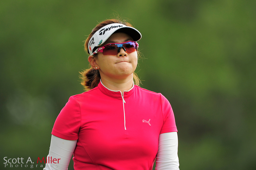 Eunjung Yi during second round of the Symetra Tour's Guardian Retirement Championship at Sara Bay in Sarasota, Florida April 27, 2013. ..©2013 Scott A. Miller