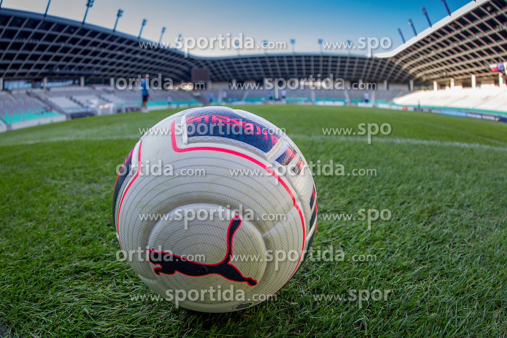 Ball during practice session of Slovenian National Football Team before Euro 2016 Qualifications match against Switzerland, on September 1, 2015 in SRC Stozice, Ljubljana, Slovenia. Photo by Urban Urbanc / Sportida