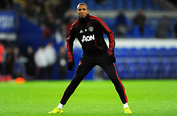 Ashley Young of Manchester United warms up - Mandatory by-line: Nizaam Jones/JMP - 22/12/2018 -  FOOTBALL - Cardiff City Stadium - Cardiff, Wales-  Cardiff City v Manchester United - Premier League