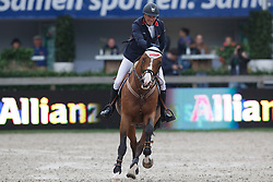 Clee Joe, (GBR), Utamaro D Ecaussines<br /> Longings Grand Prix Port of Rotterdam<br /> CHIO Rotterdam 2015<br /> © Hippo Foto - Dirk Caremans<br /> 21/06/15